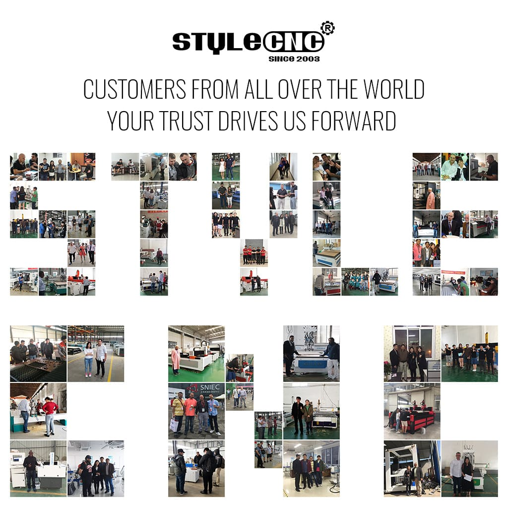 STYLECNC Customers