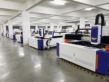 STYLECNC's Laser Cutting Machine Workshop