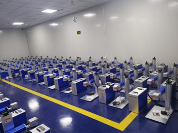 STYLECNC's Laser Marking Machine Workshop