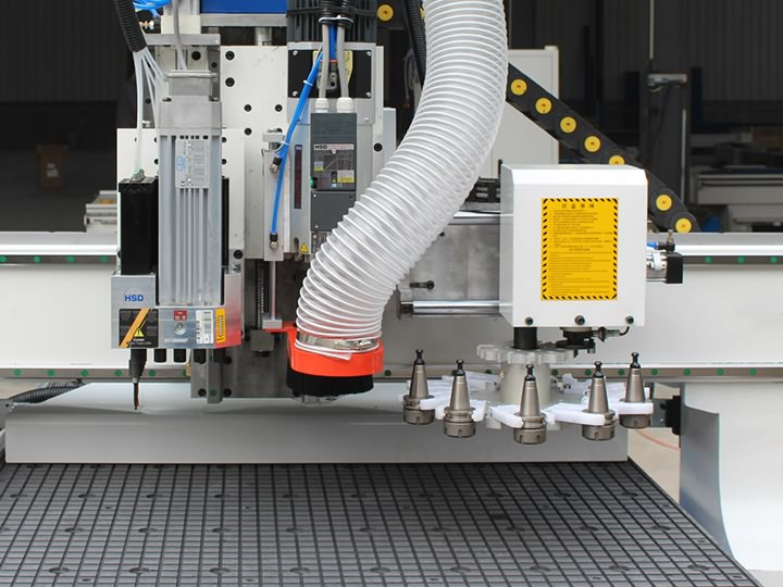 The Third Picture of Disc Automatic Tool Changer CNC Router STM1325D with ATC system