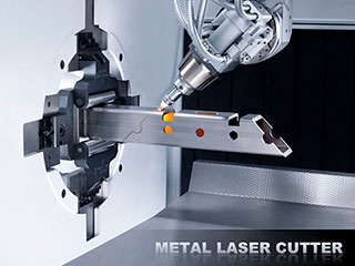 Metal laser cutting machine price in China