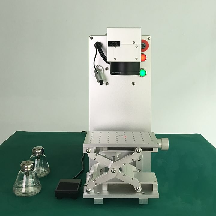 Portable fiber laser marking machine features
