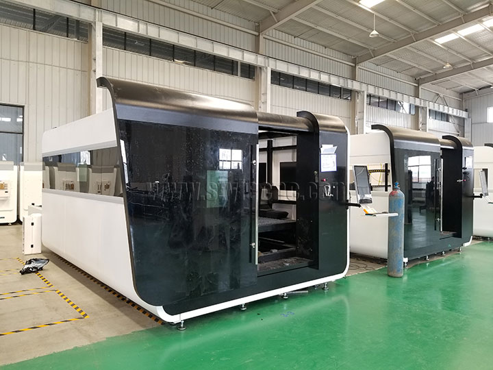 Fiber metal laser cutting machine 3000w
