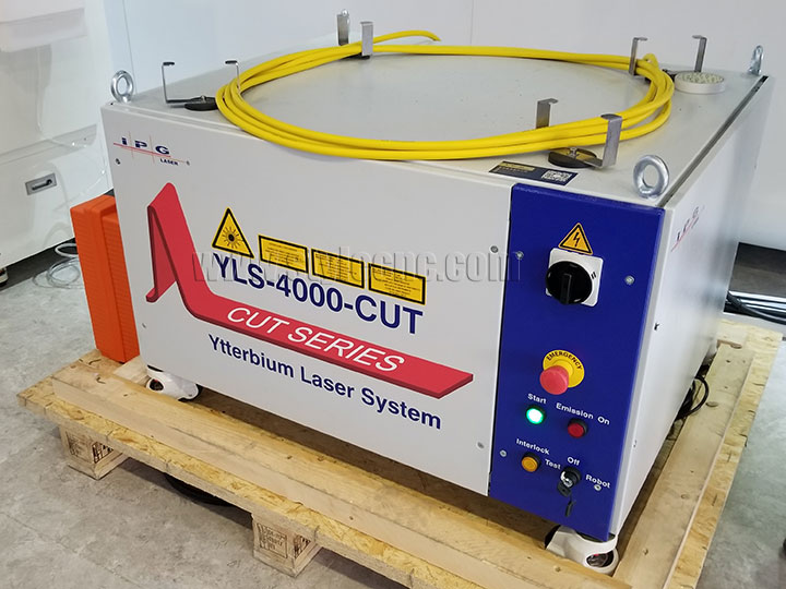 IPG YLS-4000 fiber laser source