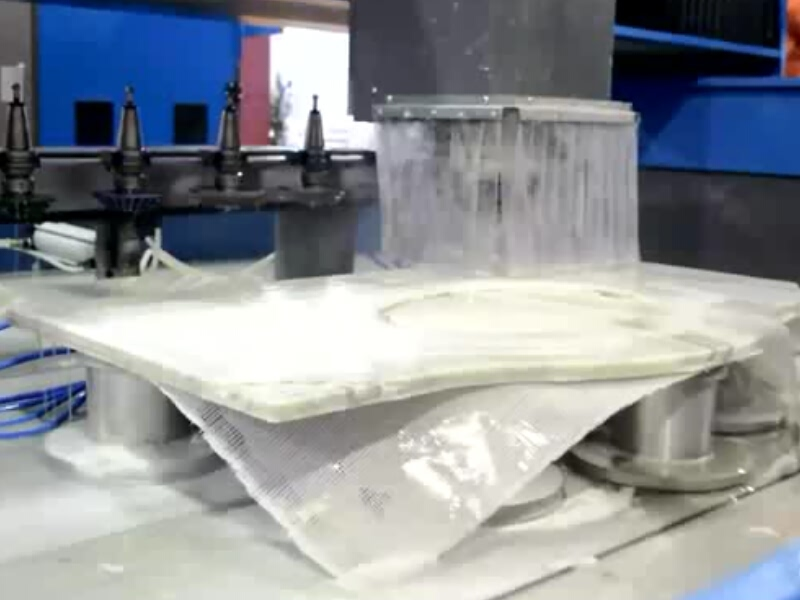 Hand Washing Sink Stone ATC CNC Router
