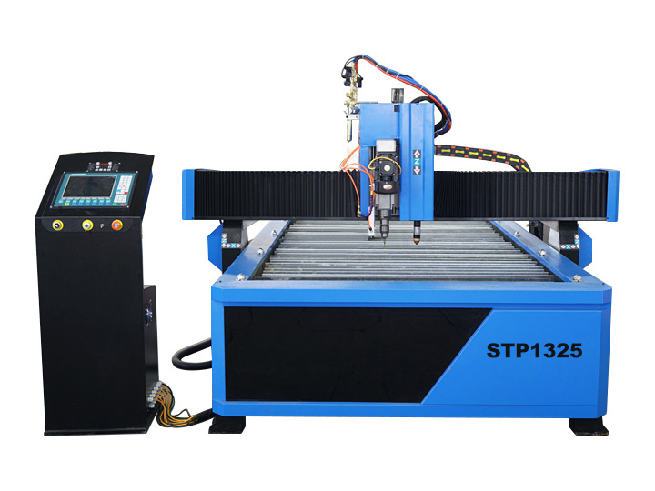 Cheap CNC Plasma Cutting Drilling Machine with Flame Torch