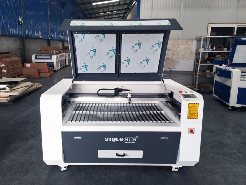 The First Picture of STJ1490 Acrylic Laser Cutting Machine for sale with reasonable price