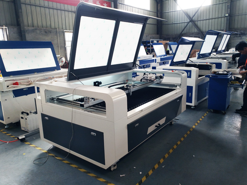 The Second Picture of STJ1490 Acrylic Laser Cutting Machine for sale with reasonable price