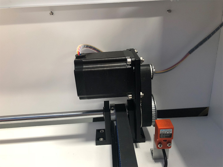 Stepper motors for desktop laser cutter