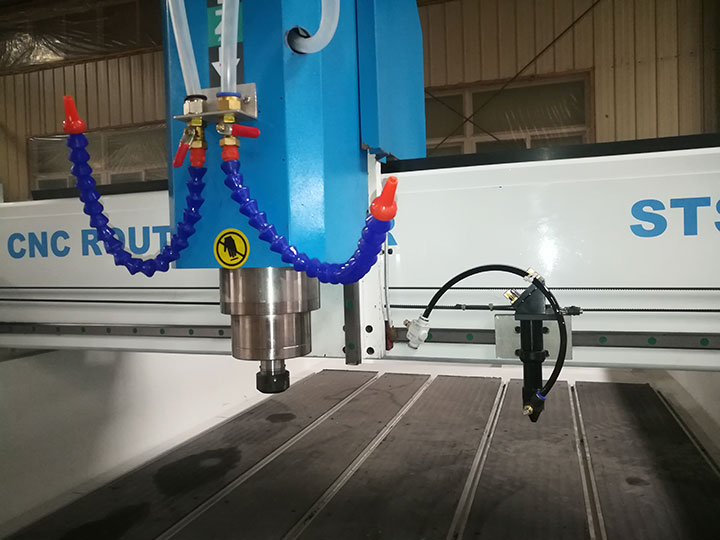 The Second Picture of Multi-Purpose Stone CNC Machine for Headstone, Memorial Stone, Tombstone