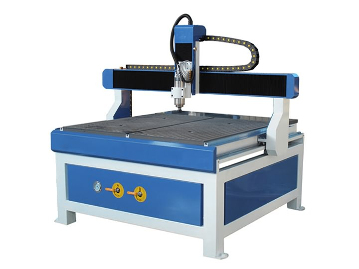 The Second Picture of Low Cost 3 Axis CNC Router 1212 with 4x4 Size