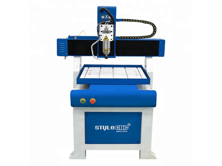 The Second Picture of Small Entry Level CNC Router Kit for Beginners with 2x2 Moving Table