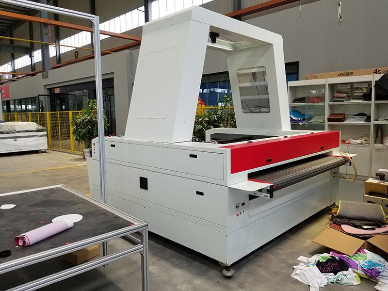 Laser fabric cutting machine parts