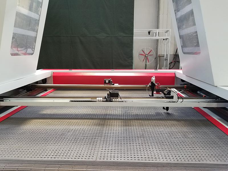 Laser garment cutter