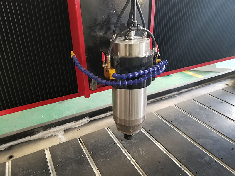 The Spindle of Dual Spindles 3D CNC Stone Carving Machine