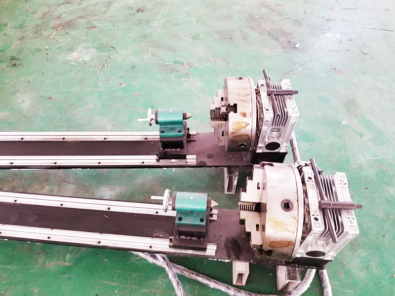 Rotary Device for 3D CNC Stone Carving Machine