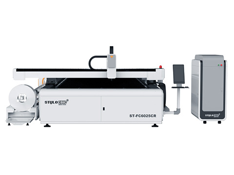 Metal sheet and pipes fiber laser cutter 500W