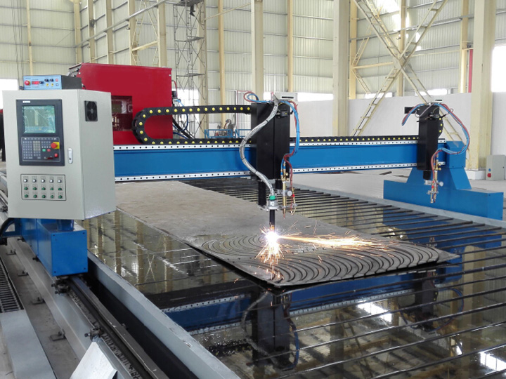The Third Picture of Heavy Duty Gantry Plasma Cutting Machine with Big Size