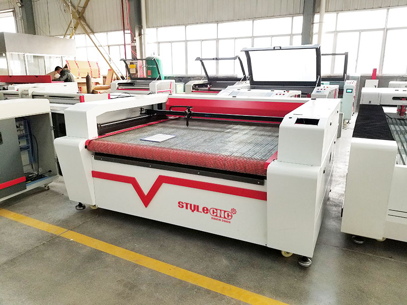 single head laser textile cutting machine