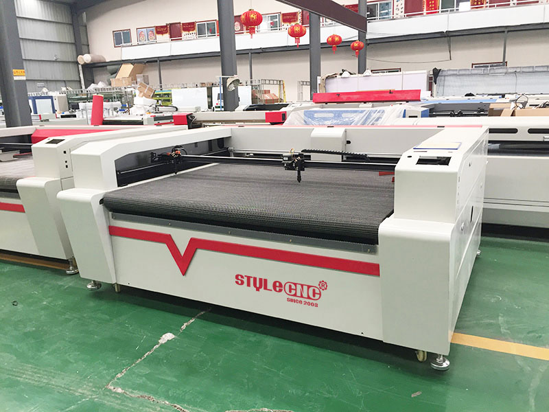 double heads laser textile cutting machine