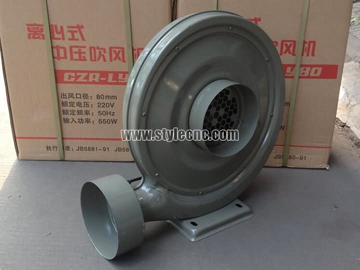 The First Picture of Exhaust fan for laser cutting machine dust collector