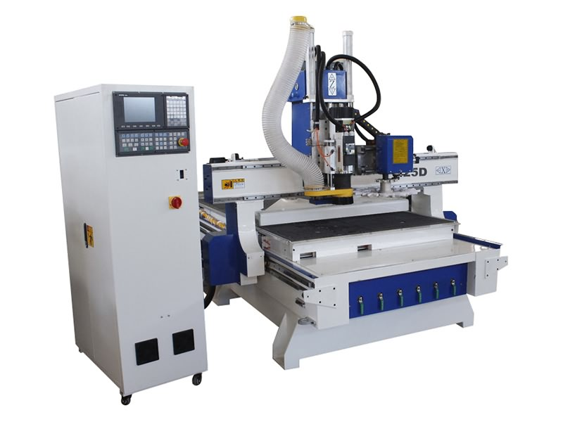 The First Picture of ATC CNC Router with Automatic Tool Changer Spindle for Sale