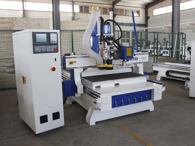 ATC CNC Router Machine with Automatic Tool Changer Spindle