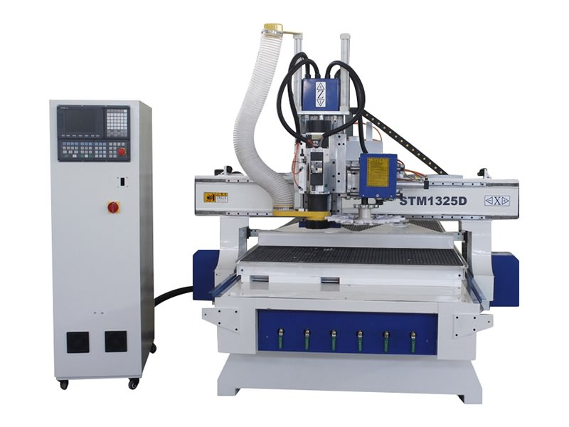 The Second Picture of ATC CNC Router with Automatic Tool Changer Spindle for Sale