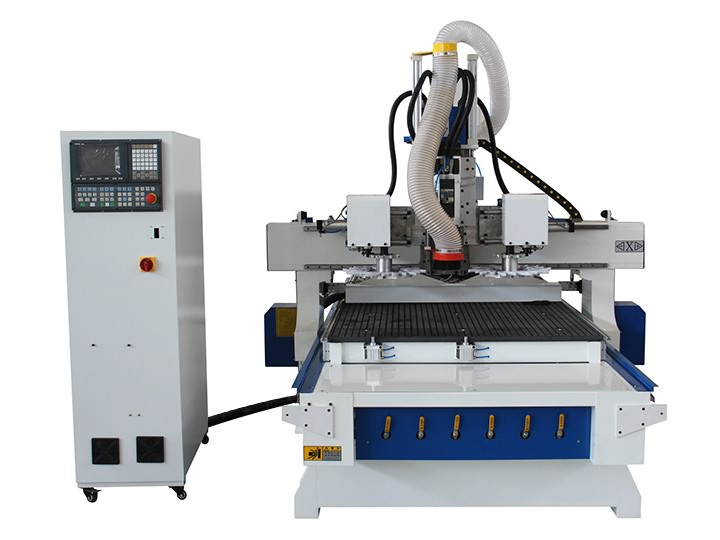 ATC CNC Router with Double Disc Tools Magazine