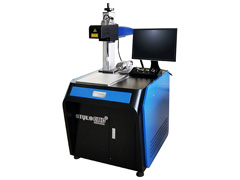 3D laser marking machine with IPG fiber source