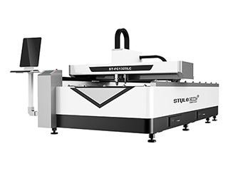 Laser metal cutting machine combined with non-metal cutting