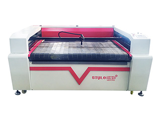 Laser Fabric Cutter with Automatic Feeding System
