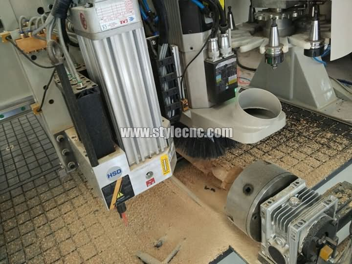 The First Picture of Automatic nesting CNC router machine with automatic loading and unloading system