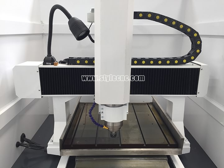 The Third Picture of CNC Moulding Machine with Automatic Tool Changer