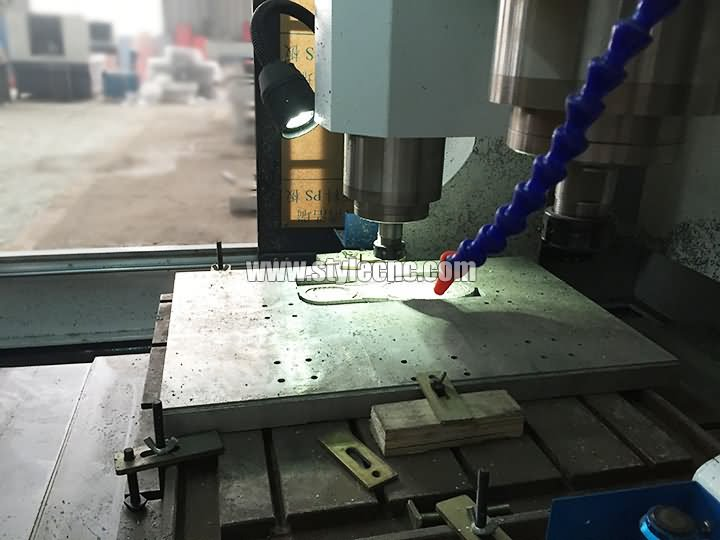 The Fourth Picture of CNC Moulding Machine with Automatic Tool Changer
