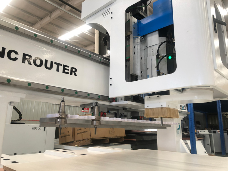 Linear Automatic Tool Changer for 5x10 CNC Router