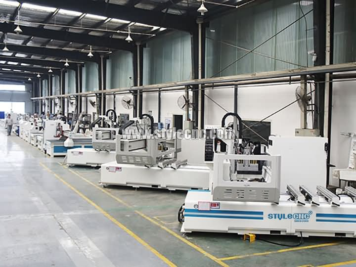 The First Picture of STYLECNC® PTP all-rounder CNC working center