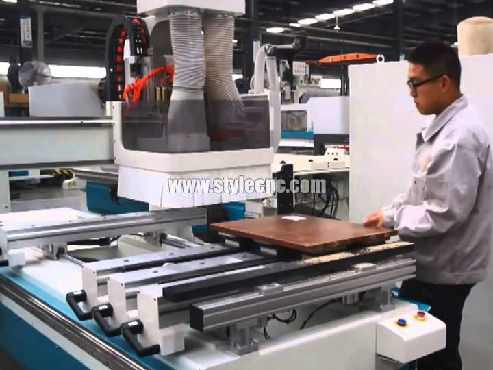 The First Picture of Single Arm PTP CNC Working Center