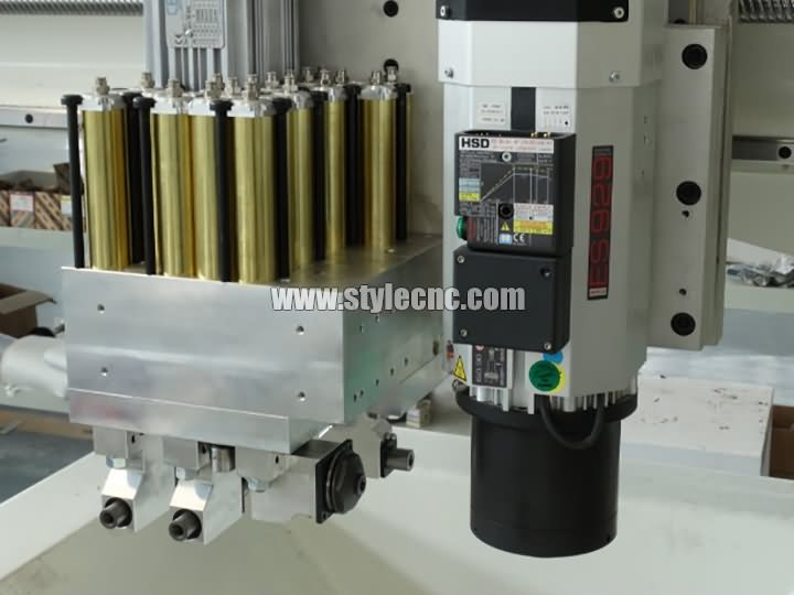 9KW Italian HSD Spindle and Fam Boring unit