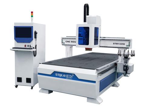 <b>Automatic Tool Changer CNC Router with carousel ATC system</b>