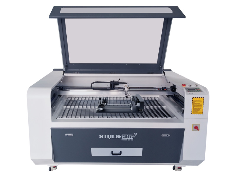 CO2 laser engraving machine for knives