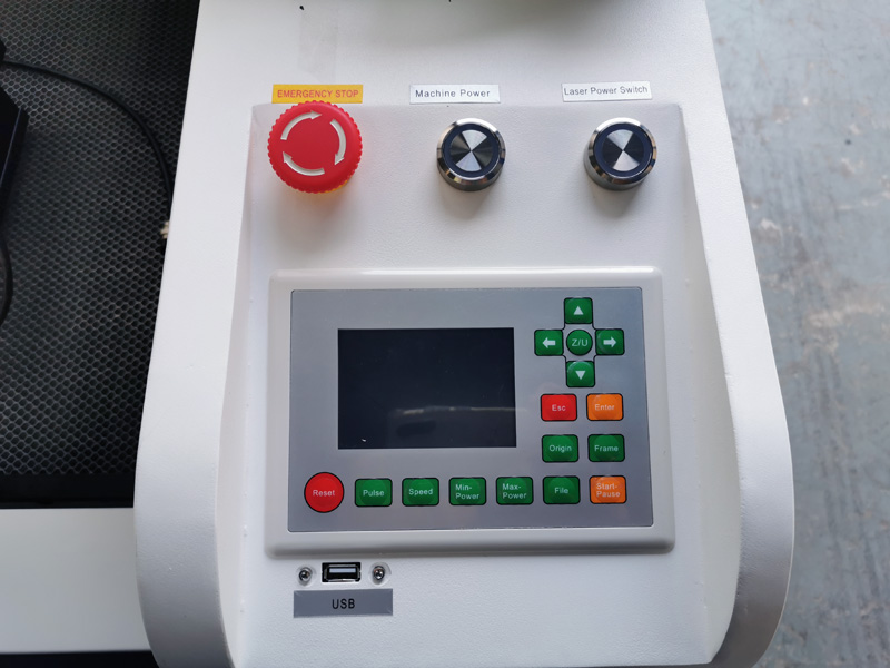 Ruida 6442G control system for CO2 laser engraver