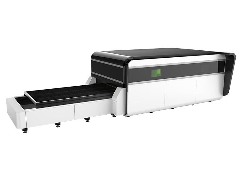 second laser cutting machine