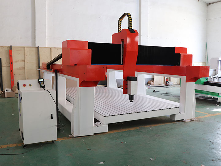 The Fourth Picture of 3 Axis EPS Foam CNC Router Cutting Machine