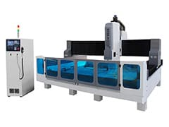 CNC Stone Cutting and Polishing Machine for quartz, granite, marble