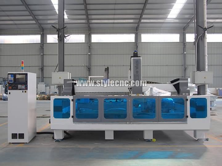 The First Picture of CNC Machining Center for Stone Cutting and Polishing