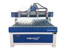 2020 Best 4x4 Hobby CNC Router Kit with Four Spindles