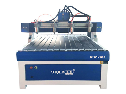 STYLECNC® 4x4 CNC Router 1212 with four spindles