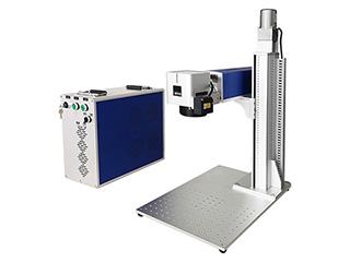 <b>Color laser marking machine with MOPA fiber laser source 20W</b>