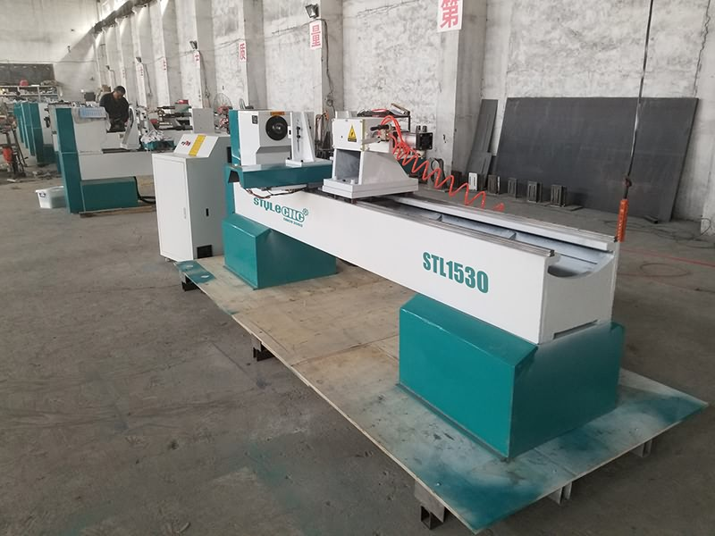 The First Picture of 2020 Best CNC Wood Turning Lathe Machine for Bowls, Vases, Goblets, Cups
